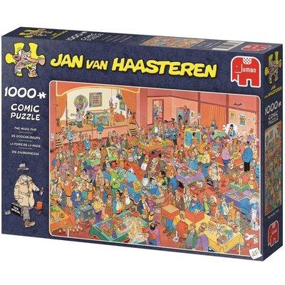 Jan van Haasteren Puzzel JvH: De Goochelbeurs 1000 stukjes