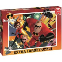 Puzzel The Incredibles 2: 200 stukjes XL