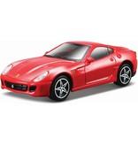Bburago Auto Bburago Ferrari 599 GTB Fiorano schaal 1:43