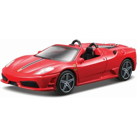 Bburago Auto Bburago Ferrari Scuderia Spider 16M schaal 1:43