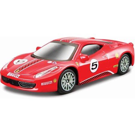 Bburago Auto Bburago Ferrari 458 Challenge schaal 1:43