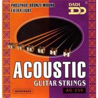 Snarenset gitaar akoestisch Dadi phosphor