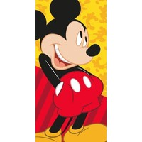 Badlaken Mickey Mouse pockets 70x140 cm
