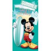 Badlaken Mickey Mouse surf 70x140 cm