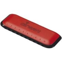 Mondharmonica Suzuki airwave red