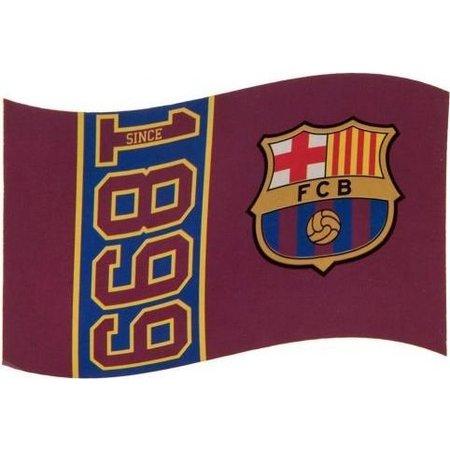 Barcelona FC Vlag barcelona groot 100x150 cm since 1899