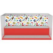 Opbergbox LEGO play & display rood