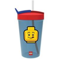 Drinkbeker met rietje Lego Iconic classic