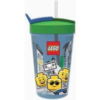 Drinkbeker met rietje Lego Iconic boy