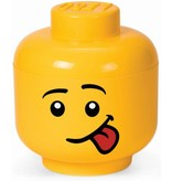 LEGO License Opbergbox LEGO head boy silly small