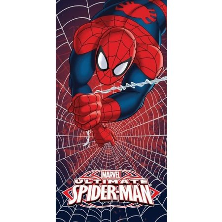 Spider-Man Badlaken Spider-Man web 70x140 cm