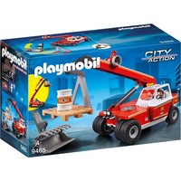 Brandweer hoogtewerker Playmobil