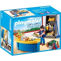 Schoolconcierge met kiosk Playmobil
