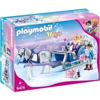 Koninklijk paar met slee Playmobil