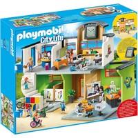 Ingerichte school Playmobil
