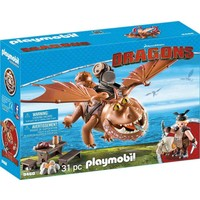 Vissenpoot en Speknekje Playmobil