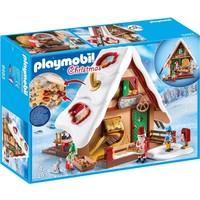 Kerstbakkerij met koekjesvormen Playmobil