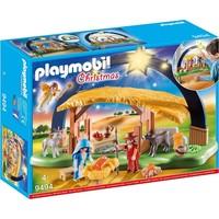 Kerststal met heldere ster Playmobil