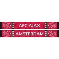 Sjaal ajax rood camo 18x140