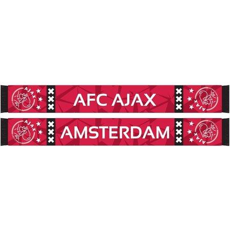 AJAX Amsterdam Sjaal ajax rood camo 18x140