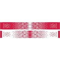AJAX Amsterdam Sjaal ajax rood/wit grunge 18x140