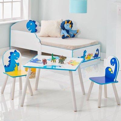 Non-License Tafel en stoeltjes dinosaurus