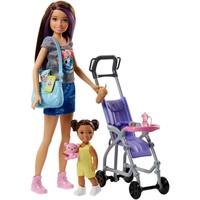 Wandelwagen babysitter Barbie