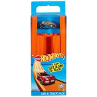 Track Builder Car and Track Hotwheels