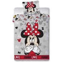 Dekbedovertrek Minnie Mouse love 140x200/70x90 cm