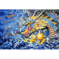 Mythical Dragon Diamond Dotz: 79x50 cm