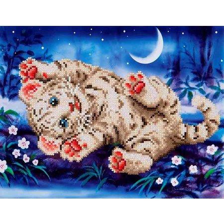 Diamond Dotz Baby Tiger Roly Poly Diamond Dotz: 35x27 cm