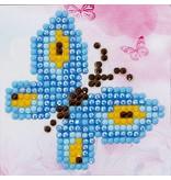 Diamond Dotz Butterfly Sparkle Diamond Dotz: 7x7 cm