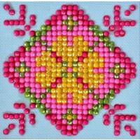 Patchwork Mandala 1 Diamond Dotz: 7x7 cm