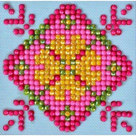 Diamond Dotz Patchwork Mandala 1 Diamond Dotz: 7x7 cm
