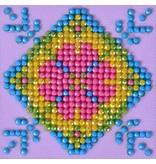 Diamond Dotz Patchwork Mandala 2 Diamond Dotz: 7x7 cm