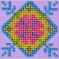 Patchwork Mandala 2 Diamond Dotz: 7x7 cm