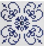 Diamond Dotz Blue on White Diamond Dotz: 10x10 cm