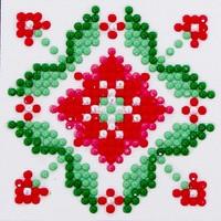 Passion Flower Diamond Dotz: 7x7 cm