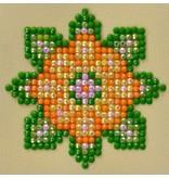 Diamond Dotz Flower Mandala 1 Diamond Dotz: 7x7 cm