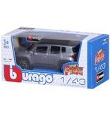 Bburago Auto Bburago Jeep Renegade schaal 1:43