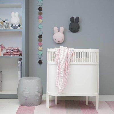 Nijntje Wanddecoratie Nijntje 30 cm roze safari