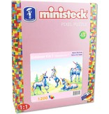 Ministeck Eenhoorn Ministeck 4-in-1 1200-delig