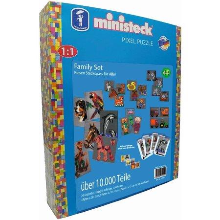 Ministeck Familie Ministeck XXL 10000-delig