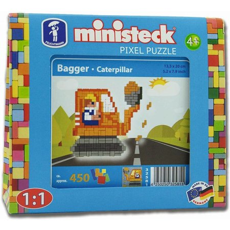 Ministeck Graafmachine Ministeck 450-delig