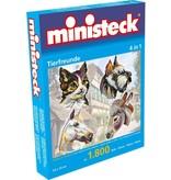 Ministeck Dierenvrienden Ministeck 4-in-1 1800-delig