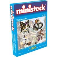 Dierenvrienden Ministeck 4-in-1 1800-delig