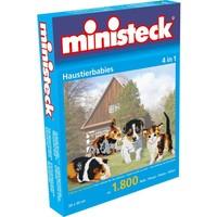 Huisdieren Ministeck 4-in-1 1800-delig