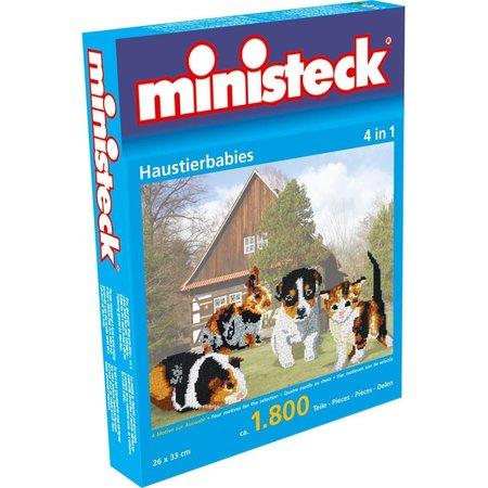 Ministeck Huisdieren Ministeck 4-in-1 1800-delig