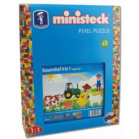 Ministeck Boerderij Ministeck XL 4-in-1 1000-delig
