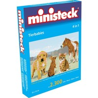 Dierenbabies Ministeck 4-in-1 2300-delig